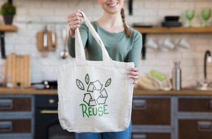 Reduce and Reuse Bag